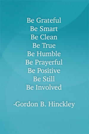 ... Background Images for iPod Touch | President Gordon B. Hinckley Quotes