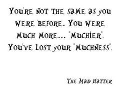 mad hatter quotes | ... In the Car, Loser - (via iconsumeyou) I quote ...