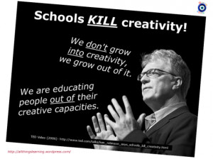 Quotes from Sir Ken Robinson ' s 2013 TED talk