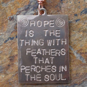 hope_emily_dickinson_poetry_quote_vintage_brass_hand_stamped_necklace ...