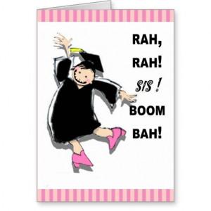 sister_graduation_congratulations_cards ...