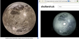 Science File: The Planet Pluto misrepresented as Jupiter's moon ...
