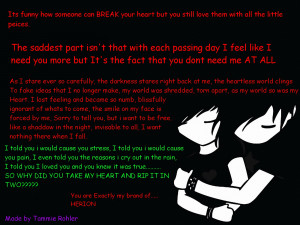 Sad Emo Quotes Emo love quotes wallpapers