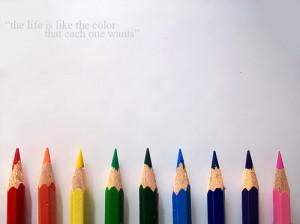 Colored Pencil Art Quotes
