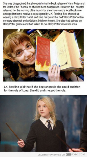 Luna, Harry, Potter, Anorexia, Evanna, Lynch