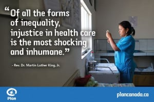 Of all the forms of inequality, injustice in health care is the most ...