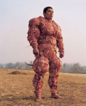 have no words… wow. This guy's wearing fully body armor made of ...