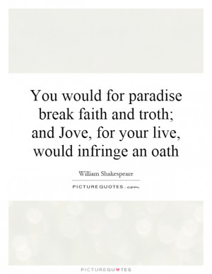 Oath Quotes