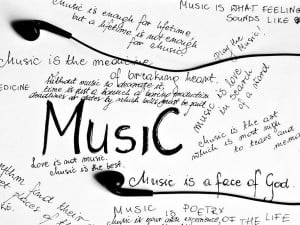 many deep quotes about music in life and the inclusion of a pair of ...