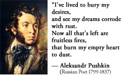 For more information about Aleksandr Pushkin: http://www ...