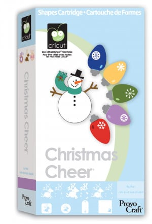 Cricut Cartridge: CHRISTMAS CHEER