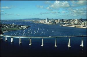 San Diego, CA Bridge to Coronado Island…