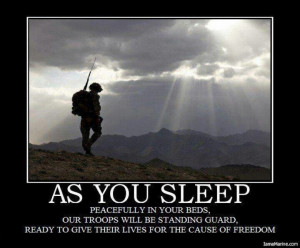 God Bless all our military men and women so far from home♥
