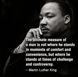 In Memory Of Dr. Martin Luther King, Jr .