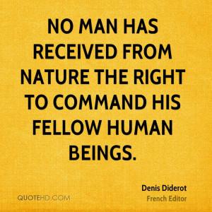 Denis Diderot Nature Quotes