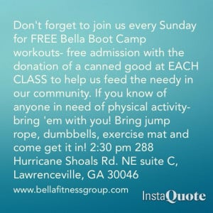 Boot Camp Motivational Quotes