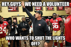 days ago. Needless to say, Jim was none too happy: HarbaughSpin (GIF ...
