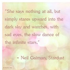 Neil Gaiman Stardust quote