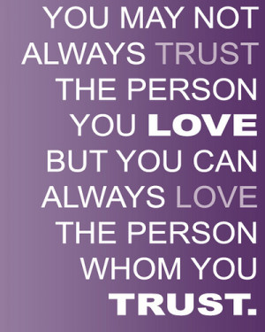 Quotes On Trust (26)
