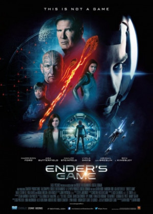 Poster Mania: Ender's Game, Thor: The Dark World, RoboCop, and More