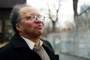 Author Walter Dean Myers tours his old Harlem neighborhood in New York ...