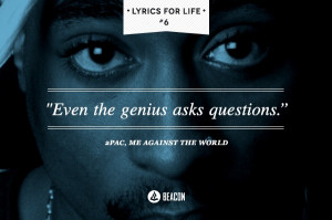 PAC - Me Against the World #2pac #lyrics #quotes #lyricsforlife # ...