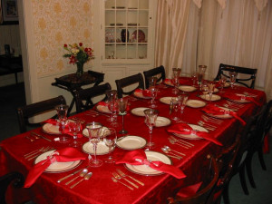 Christmas Dinner Table | quotes.