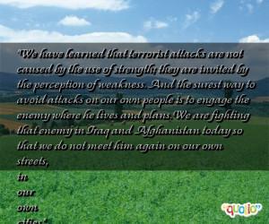 Terrorist Quotes