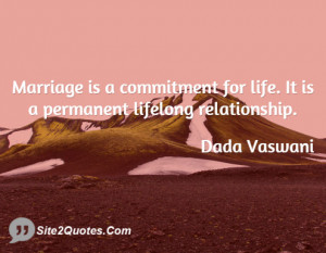 Marriage is a commitment for life It ... - Jashan Pahlajrai Vaswani
