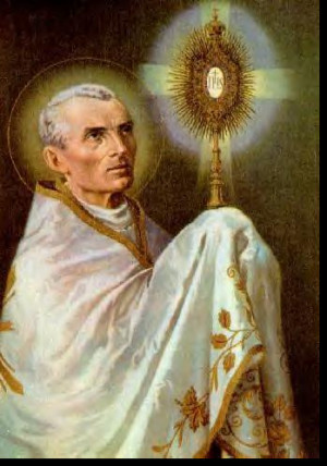 Saint Peter Julian Eymard – A French Catholic priest and Apostle of ...