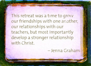 The 2nd annual 7th and 8th grade Spiritual Retreat will be Friday ...