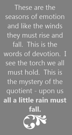Led Zeppelin Quotes Love Led zeppelin - the rain song