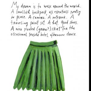 Maira Kalman. My dream...