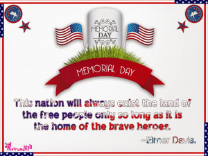 Memorial Day Quotes and Sayings Pictures