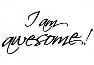 Wall Decal - I am awesome