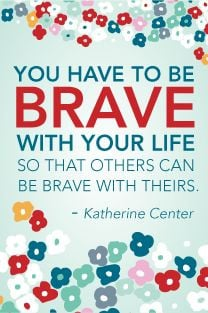 Love this quote by Katherine Center.