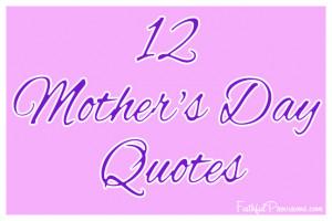 Good Mom Quotes Birthday