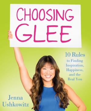 Jenna Ushkowitz of 'Glee' has some tips for others on finding harmony ...