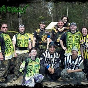 Team Gang Green @Paintball Command