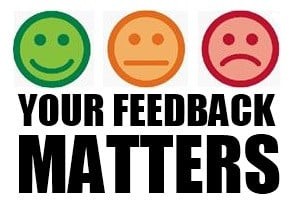 ... ago we were taught how to give constructive feedback the idea was