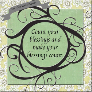 Tuesday Blessings Quotes Count your blessings