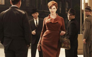 Joan Holloway, played by Christina Hendricks, in Mad Men Photo: AMC