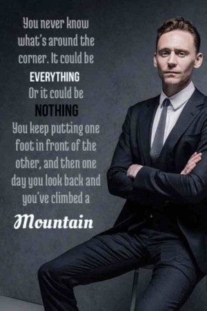 Tom Hiddleston Romance Quote Cast