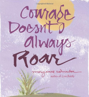 Inspirational collections of quotes and motivational books on courage