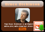 Bruce Dickinson Family quotes