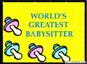 awesome babysitter