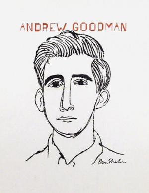 Ben Shahn Print - Andrew Goodman
