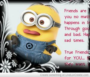 Minion Friends Like You