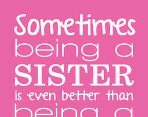 Sister personalized print/quote- 8x 10- 11x14- digital file (ONLY) ...