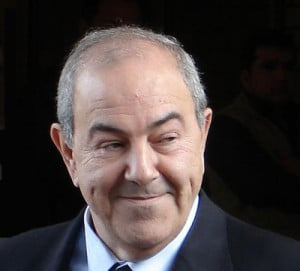Iyad Allawi a former CIA asset and one time US installed prime